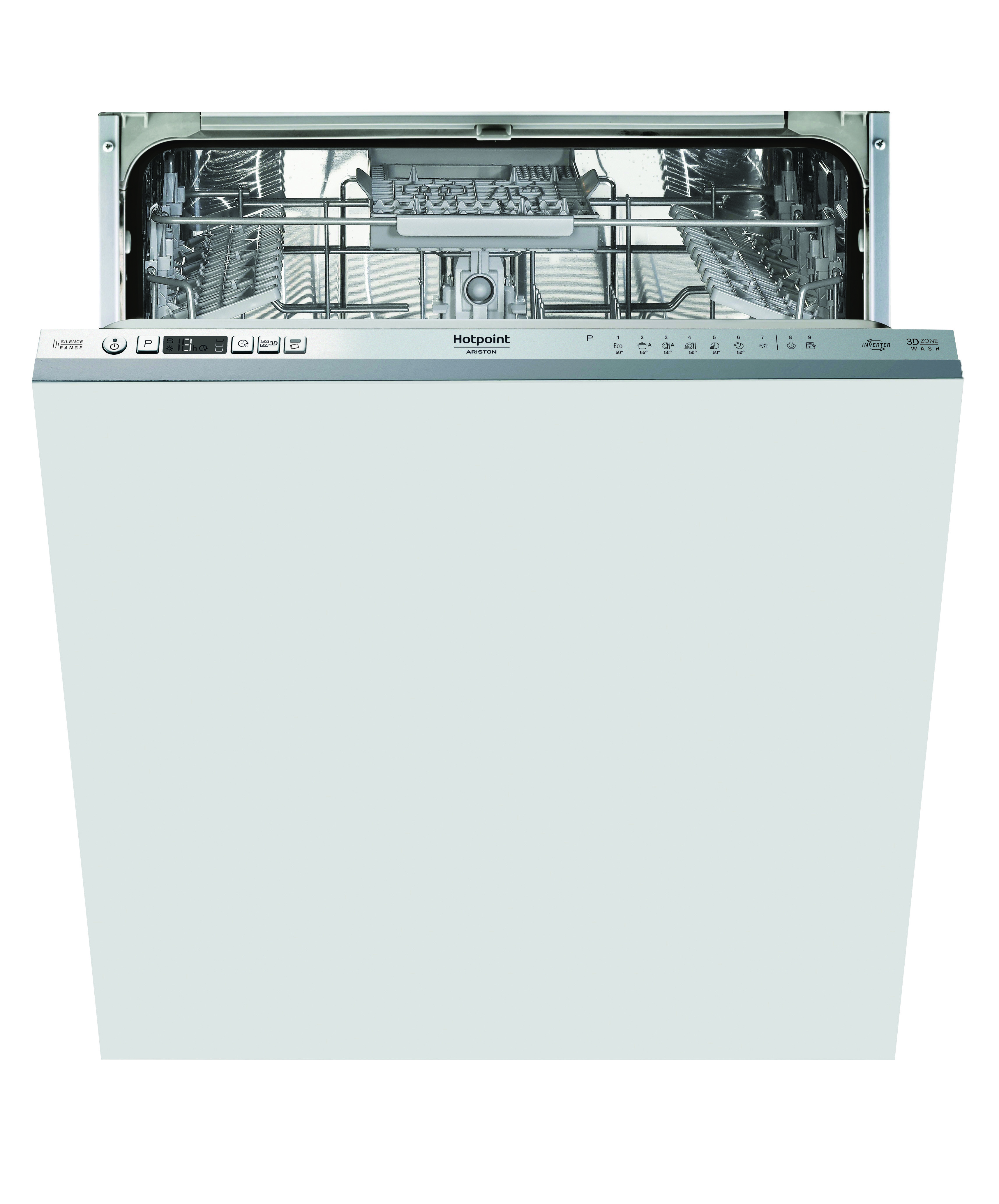 Built in dishwasher Hotpoint Ariston HIO3C21CW