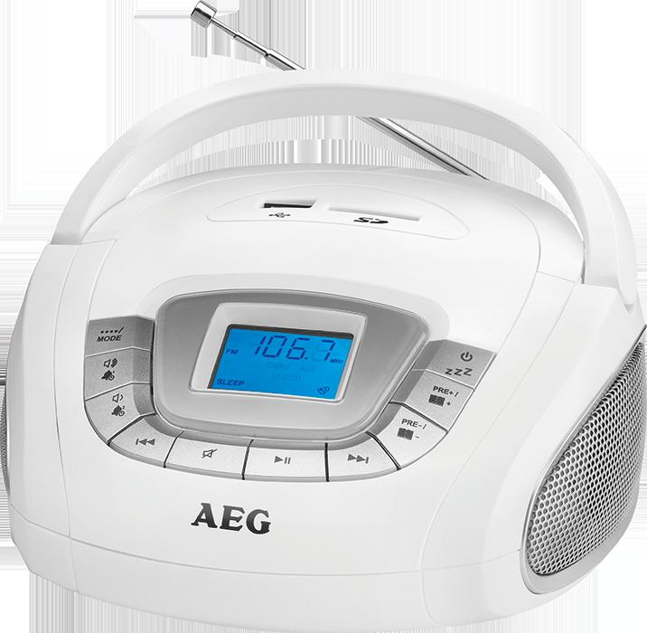 Magnetoola AEG SR4373 valge