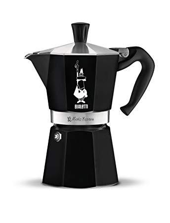 Espressokann Bialetti Moka Express 6 tassile must