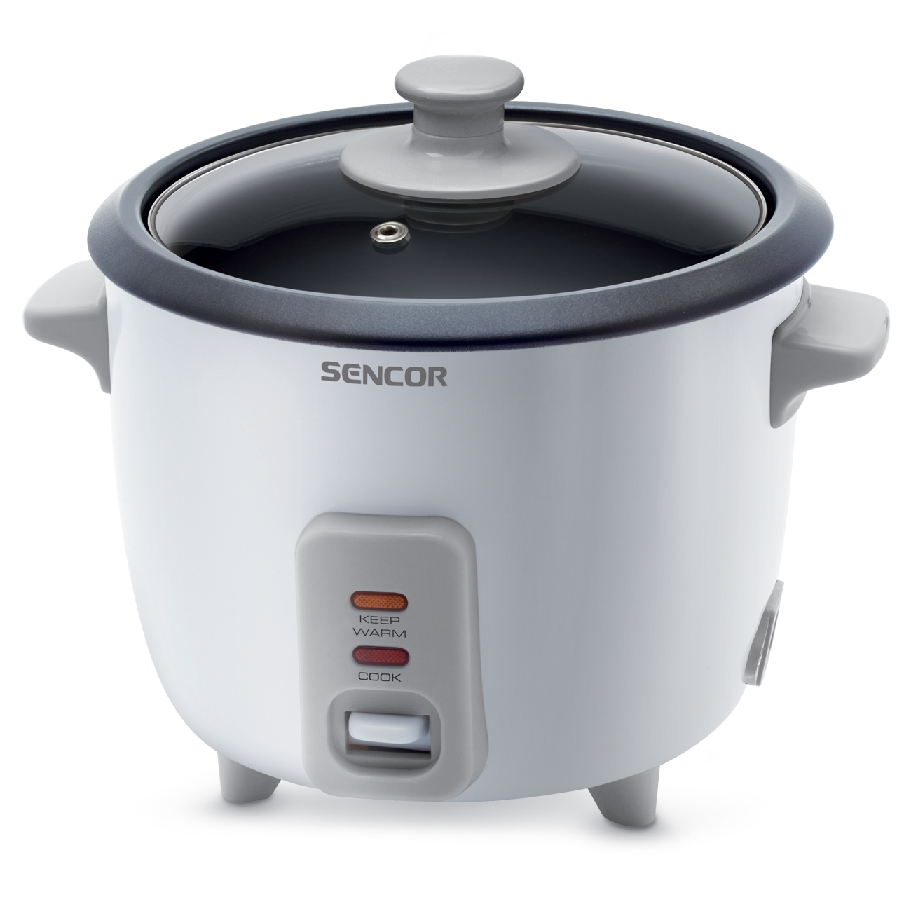 Rise cooker+steamer Sencor SRM0600WH