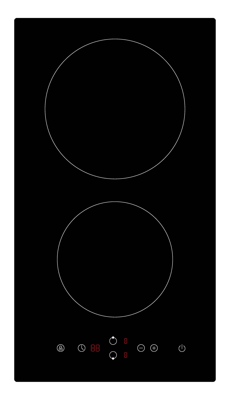 Keraamiline pliidiplaat Schlosser EH302