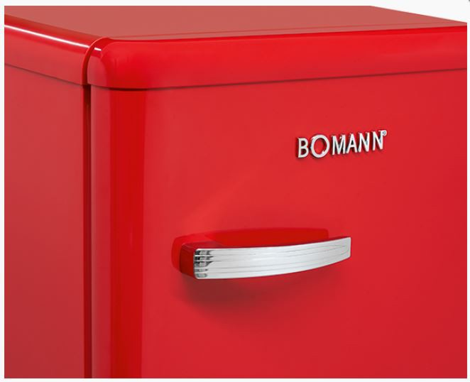 Retrokülmik Bomann VSR352R punane