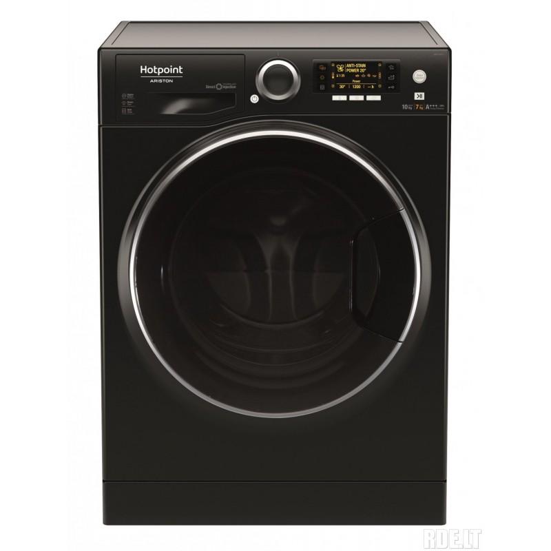 washing machine hotpoint ariston rdpd107617jkd. Black Bedroom Furniture Sets. Home Design Ideas