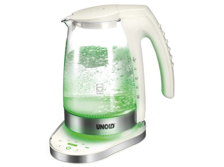 Electronic Glass kettle Unold
