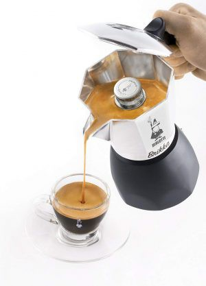 Espressokann Bialetti Brikka 4 tassile