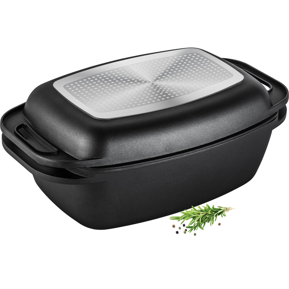 Haudepott kaanega-grillpann Lamart LT1105