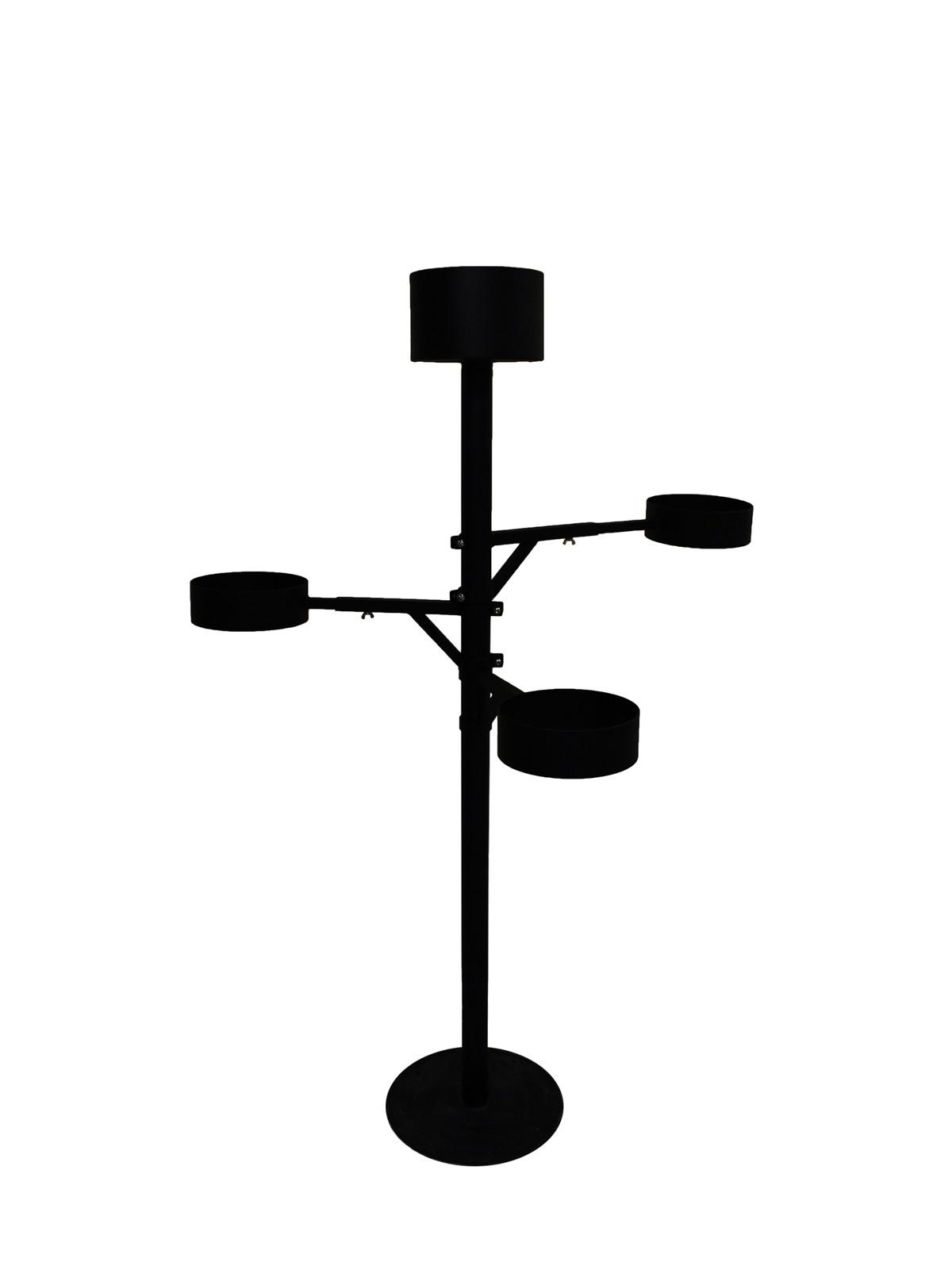 Komplekt, ampli post 200cm + 3 reguleeritavat käppa