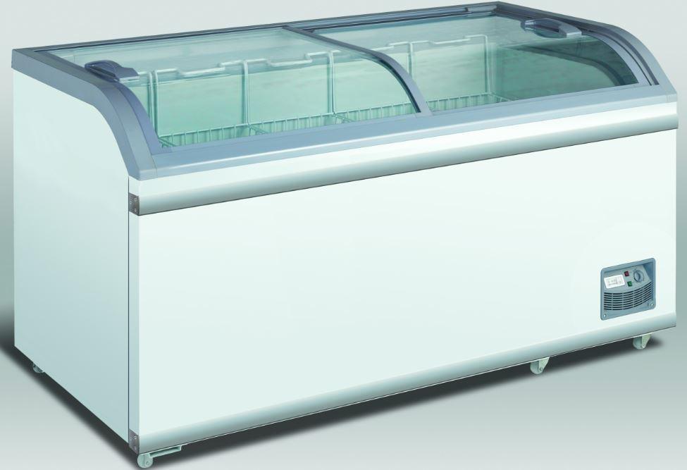 Klaaskaanega sügavkülmkirst Scandomestic XS601