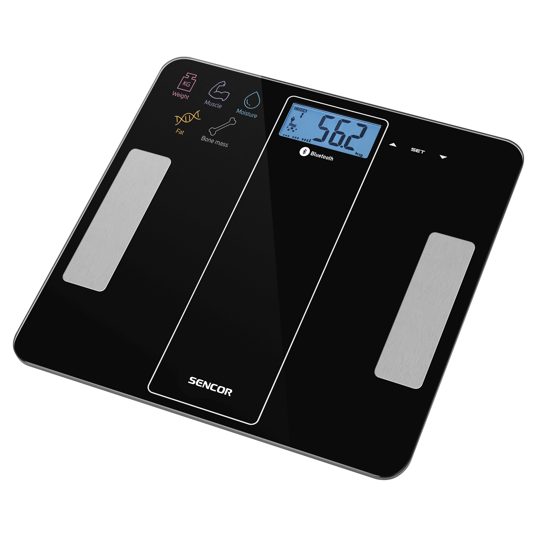 Bluetooth Fitness Scale SBS8000BK
