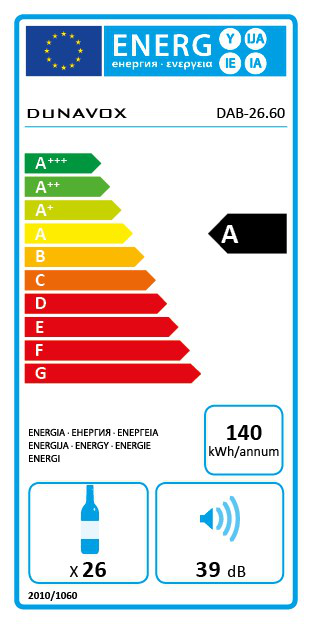 Veinikülmik Dunavox DAB26.60SSTO