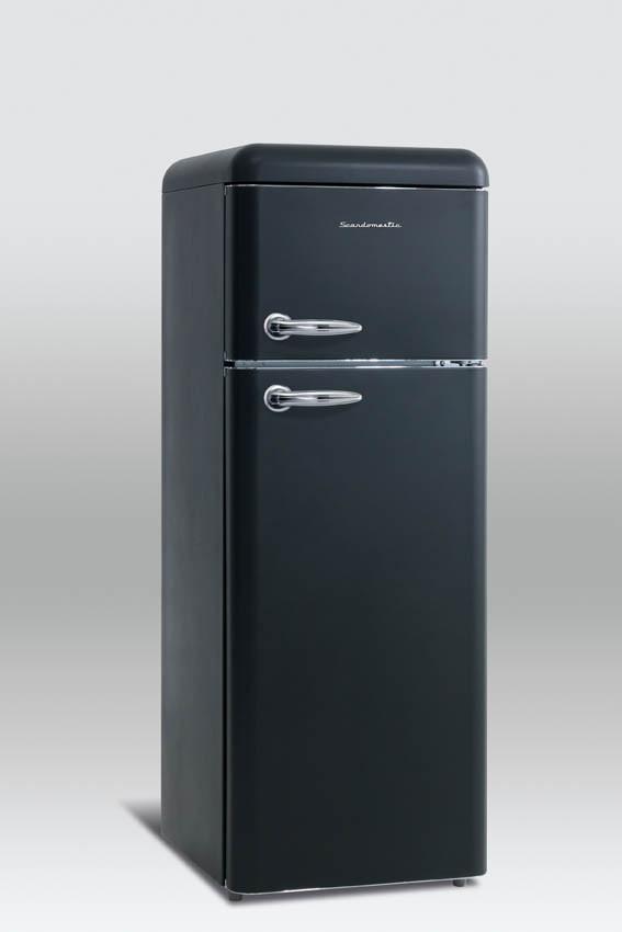 Retro refrigerator Scancool RKB201