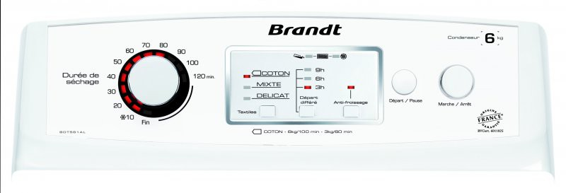 Pesukuivati Brandt BDT561AL
