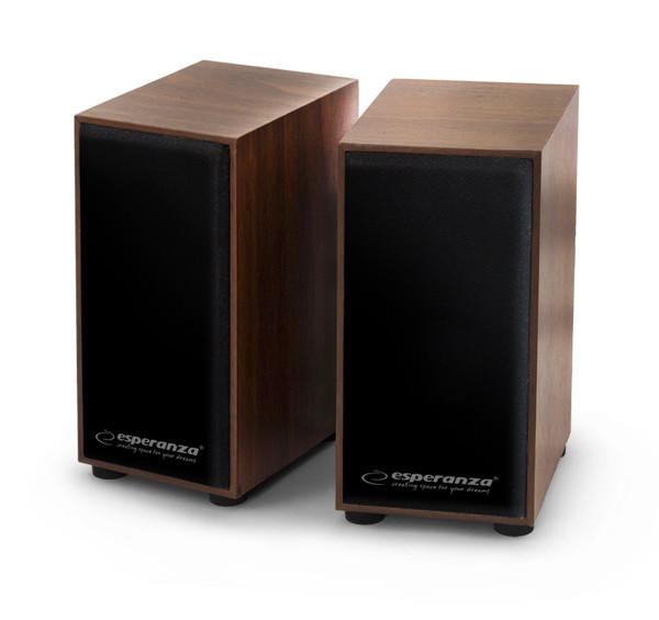 Stereo speakers 2.0 folk Esperanza EP122