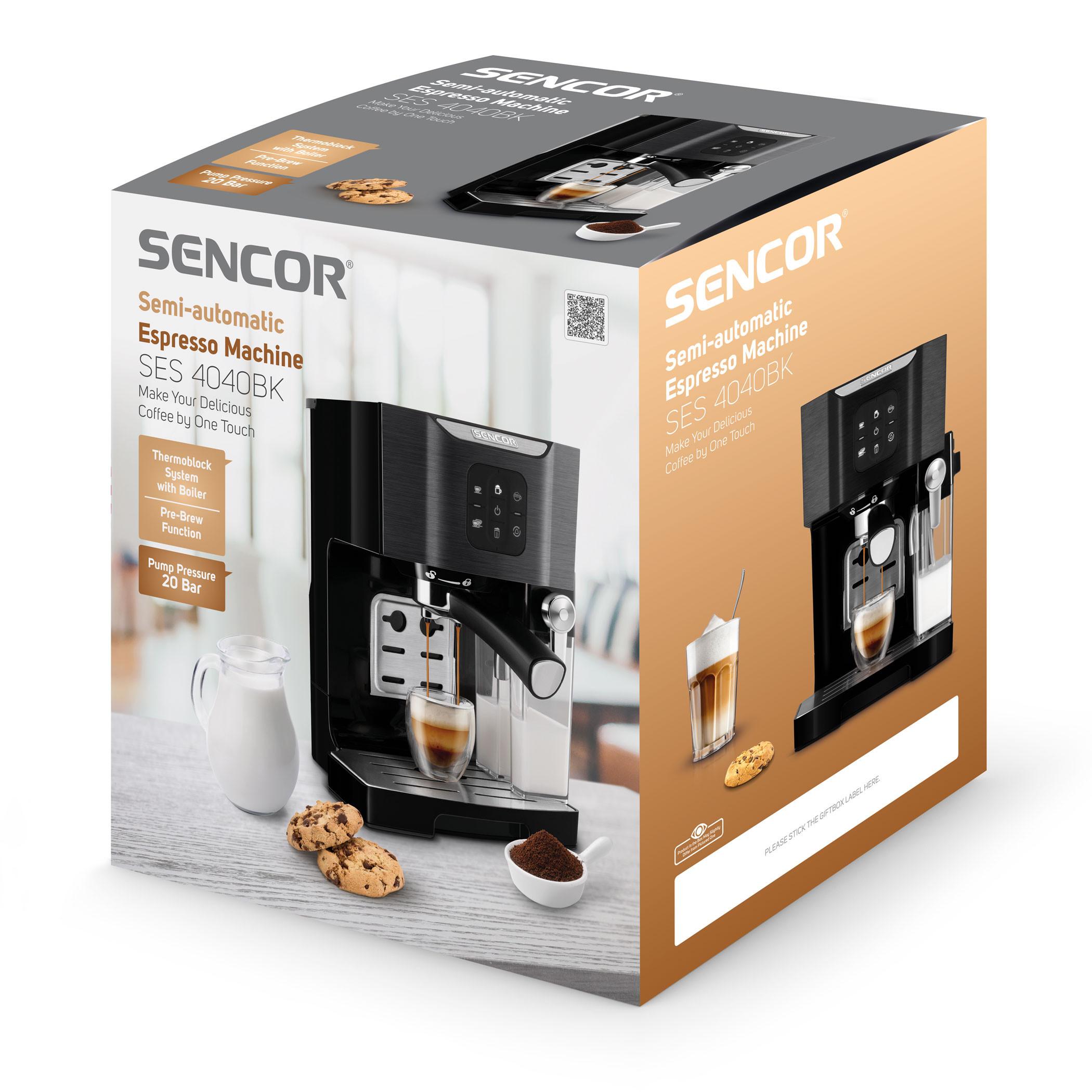 Espressomasin Sencor SES4040BK