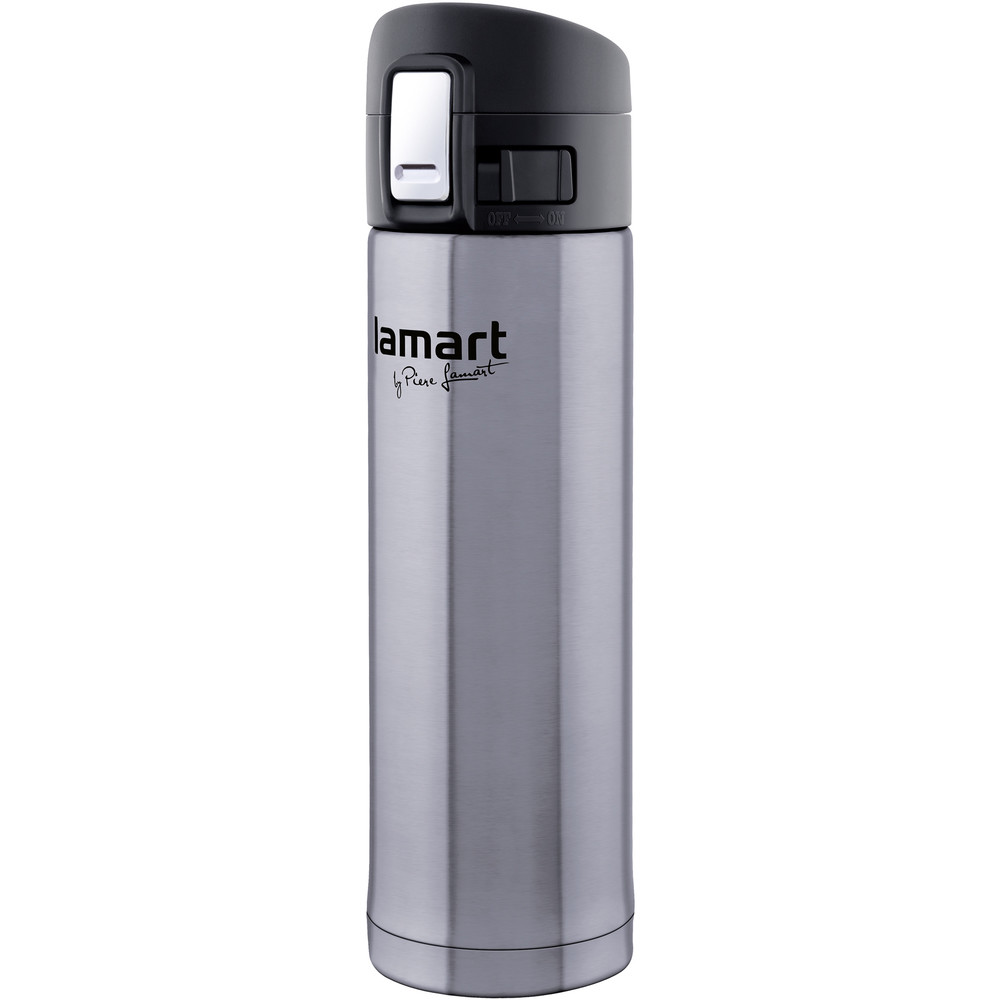 Termos Lamart LT4008 BRANCHE 420 ml hõbedane