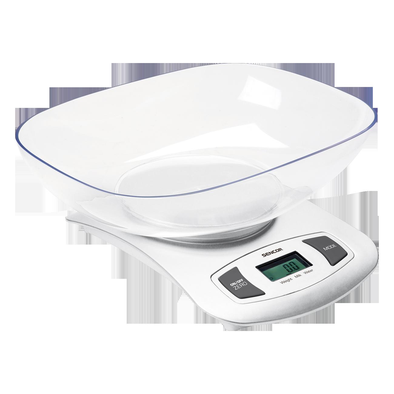 Köögikaal eemaldatava kausiga Sencor SKS4001WH