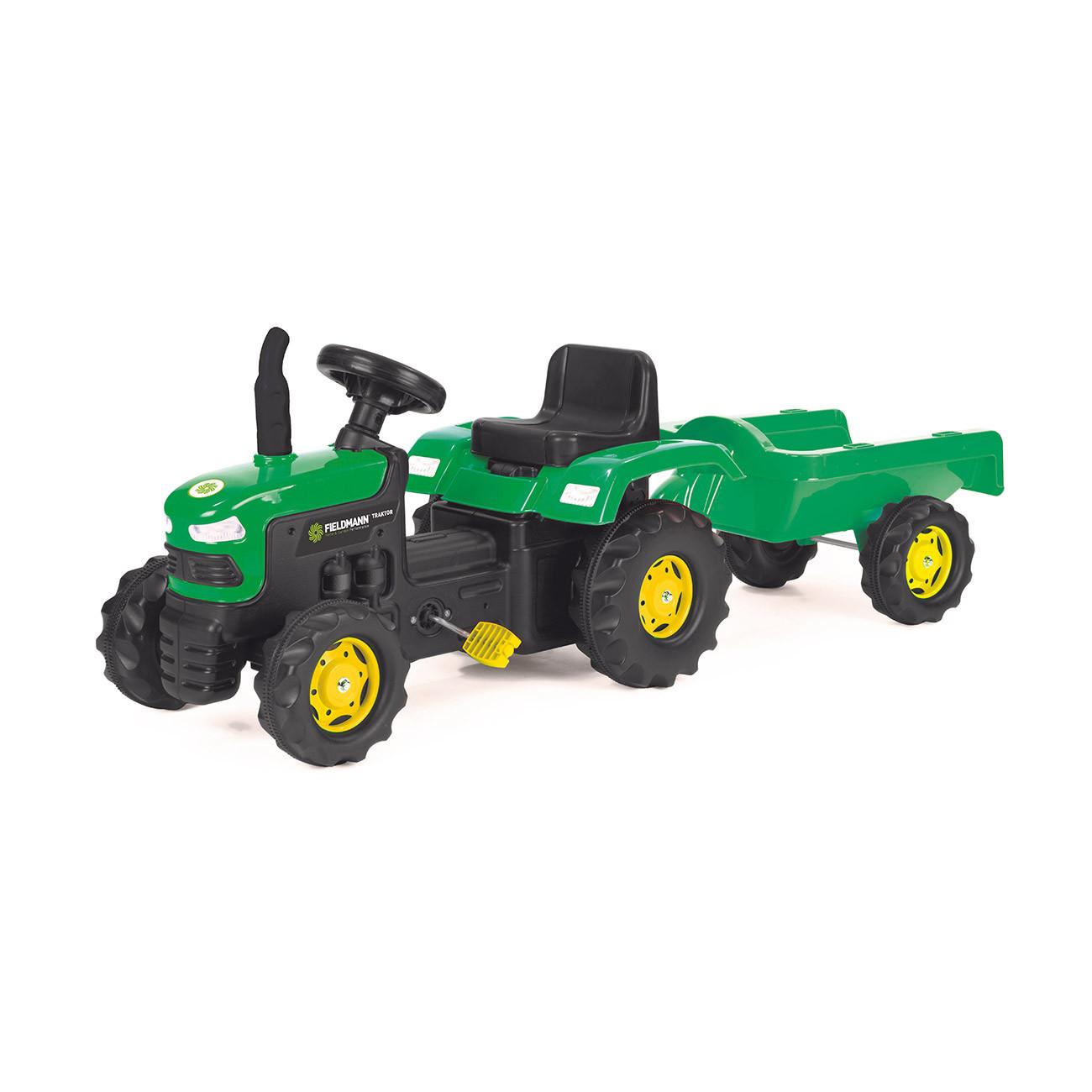 Pedaalidega järelkäruga traktor Buddy Toys BPT1012