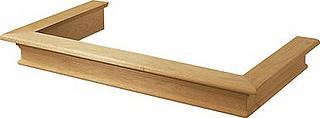 Õhupuhastaja puitraam Faber C1 60 cm Peitsimata puit