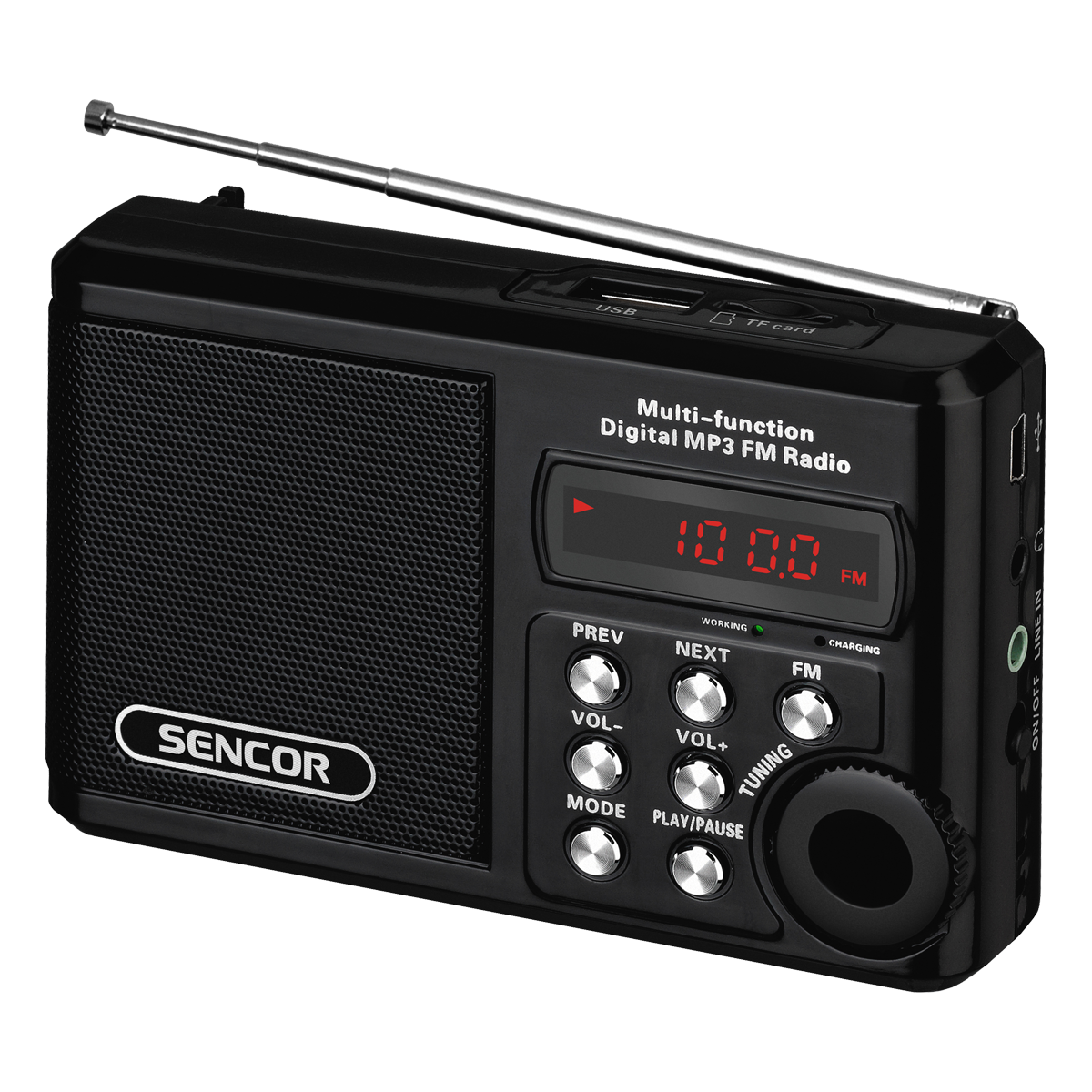Raadio Sencor SRD215B