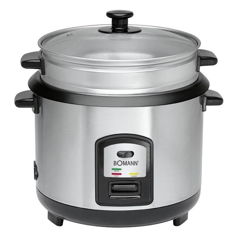 rise cooker + steamer Bomann RK2282CB