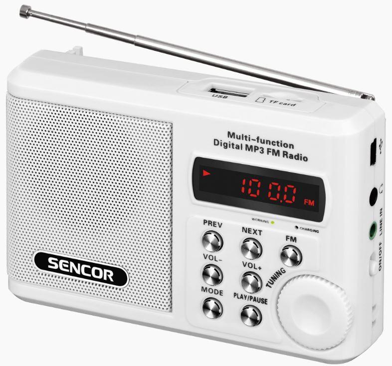 Raadio Sencor SRD215W