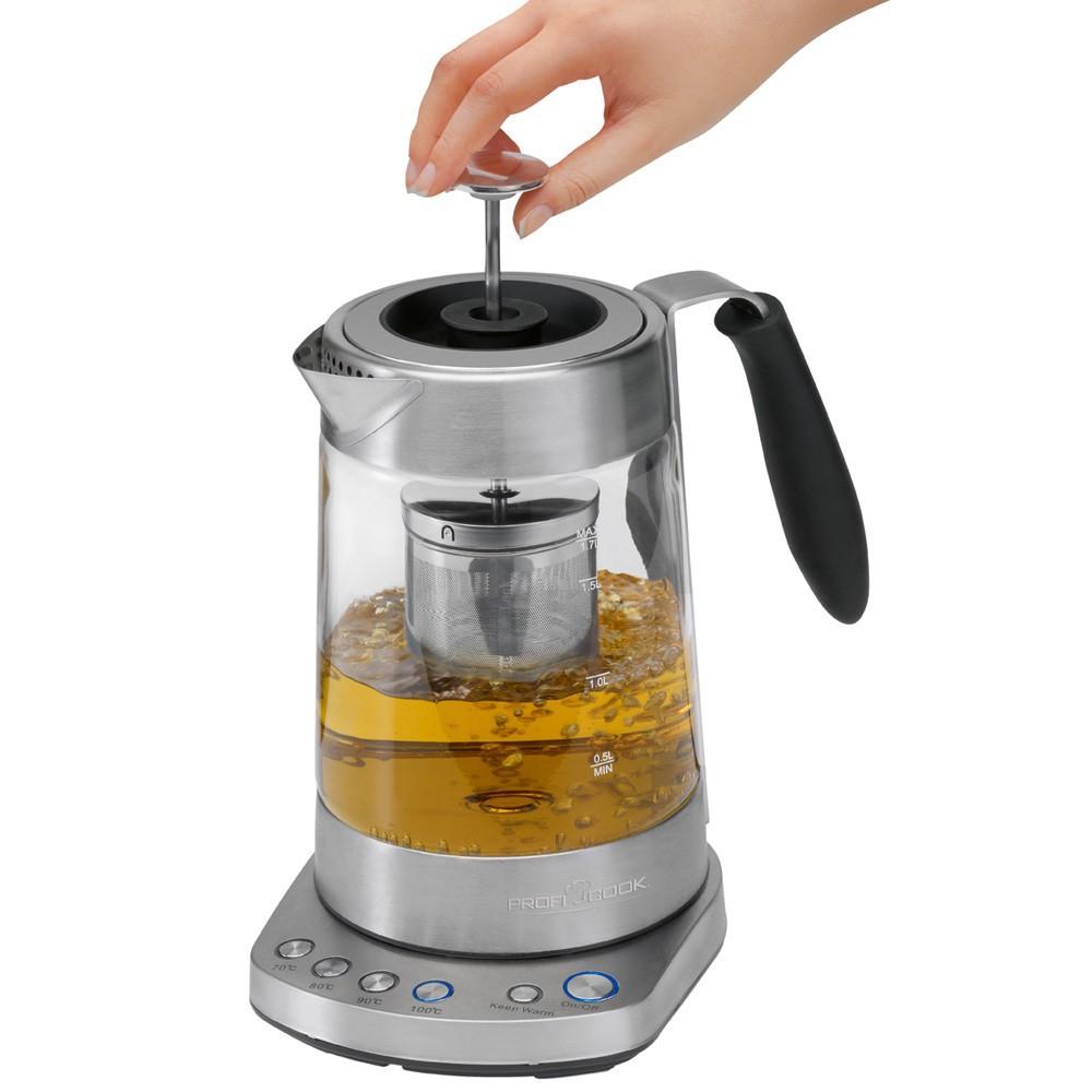 Glass tea kettle Proficook