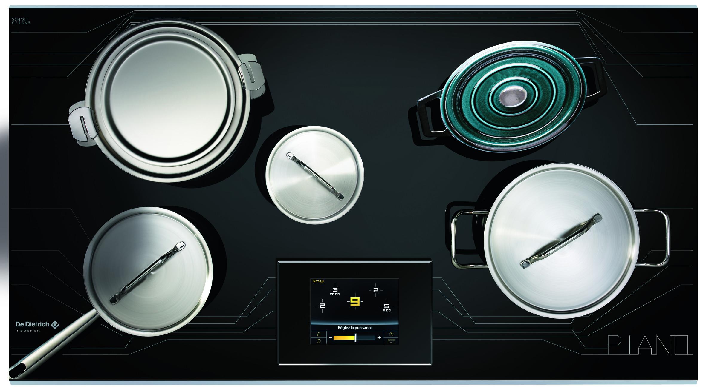 De Dietrich Kitchen Appliances Induction Hob De Dietrich Piano Dtim1000c