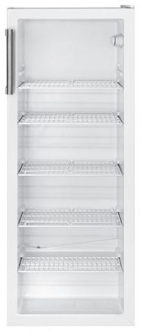 Klaasuksega külmik Bomann KSG235W