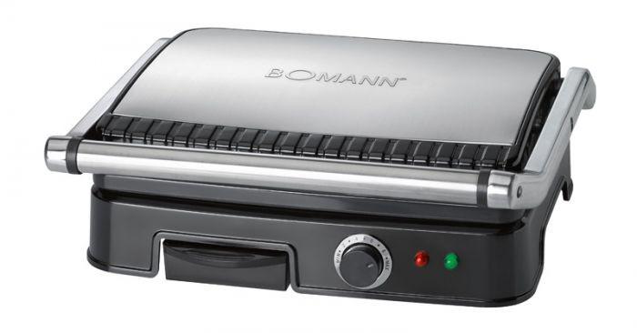 Contact grill Bomann KG2242CB black/inox