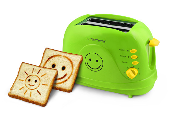 Smiley-toaster Esperanza EKT003