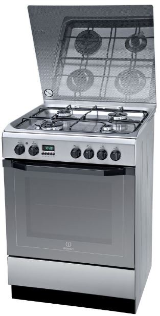 Freestanding electric oven Indesit I6TMH6AG(X)U