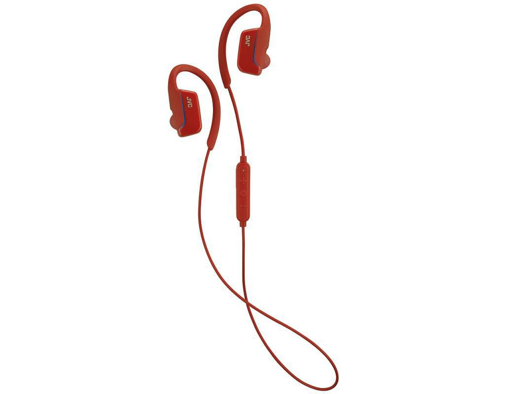 Bluetooth kõrvaklapid JVC HAEC30BTR punane